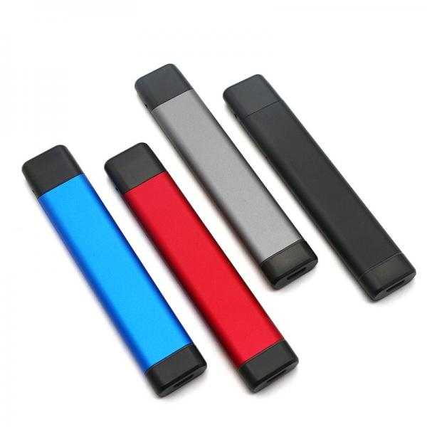 New best working Ocitytimes glass tank 350 mah O3 slim electric cigarette for thick CBD